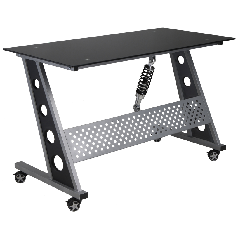 PitStop™ Furniture Compact Desk: Black